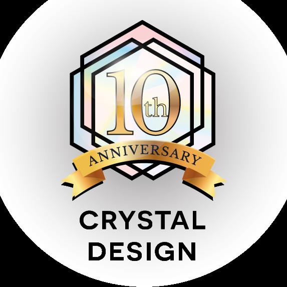 Crystal Design bestaat 10 jaar!